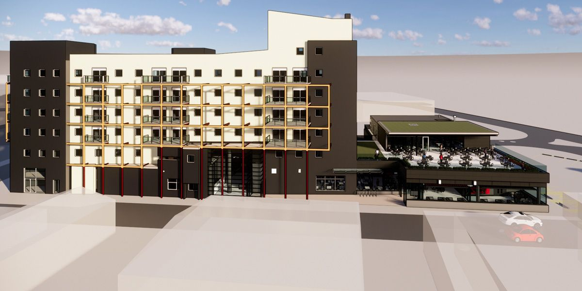 Phoenix 2020 south elevation artists impression