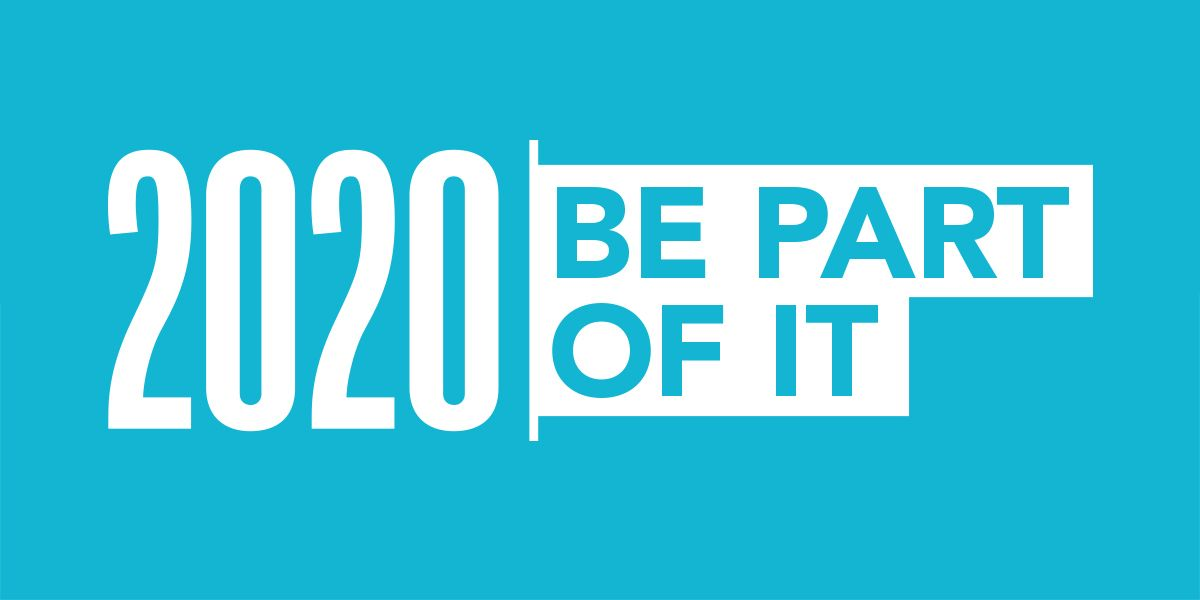 2020 be part of it logo