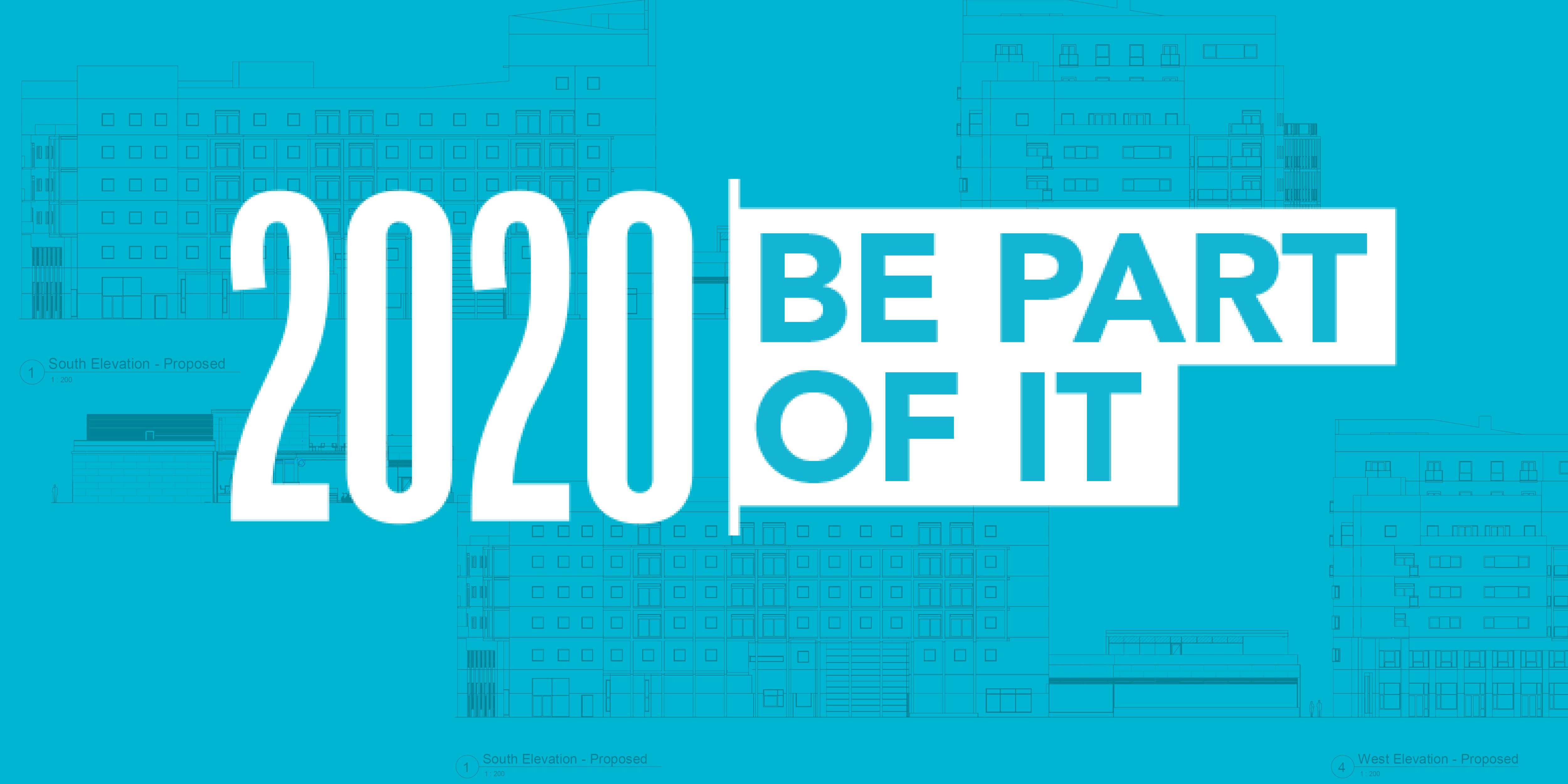 2020 Be part of it image