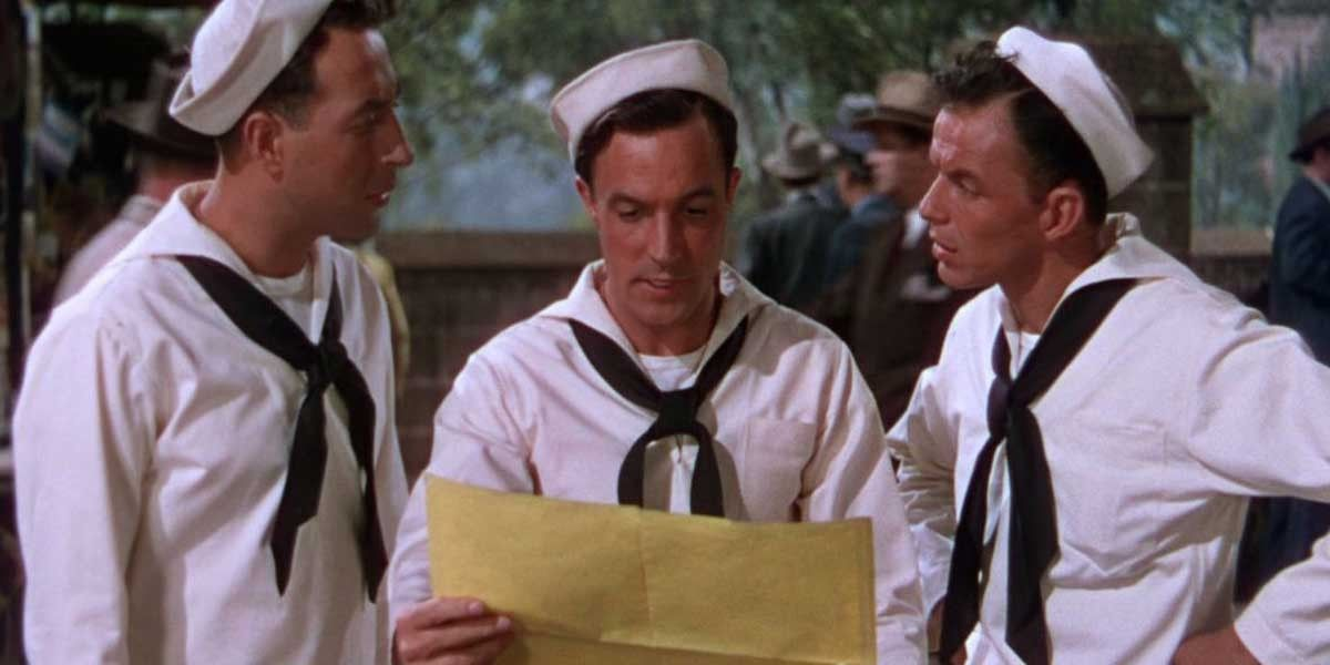Gene Kelly and Frank Sinatra in On The Town