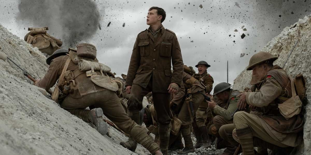 A WWI still from Sam Mendes' film 1917.