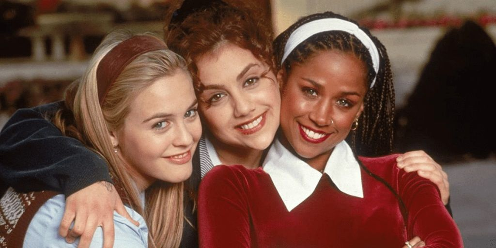 A group image of three teenage girls from the film Clueless