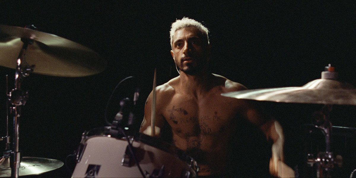 Actor Riz Ahmed as Ruben, a drummer who's part of a metal-duo.
