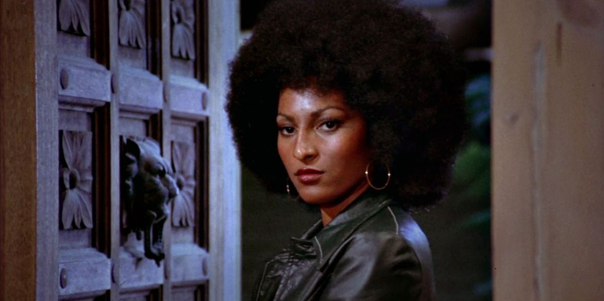 Pam Grier in the film Foxy Brown