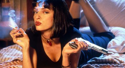 A picture of Uma Thurman in Pulp Fiction
