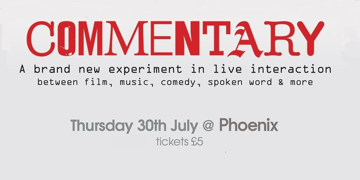 Commentary film and animation event at Leicester Phoenix