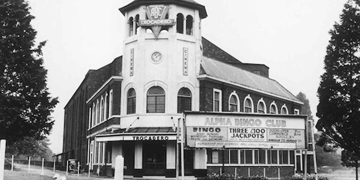 History of cinema in Leicester - picture of old cinema
