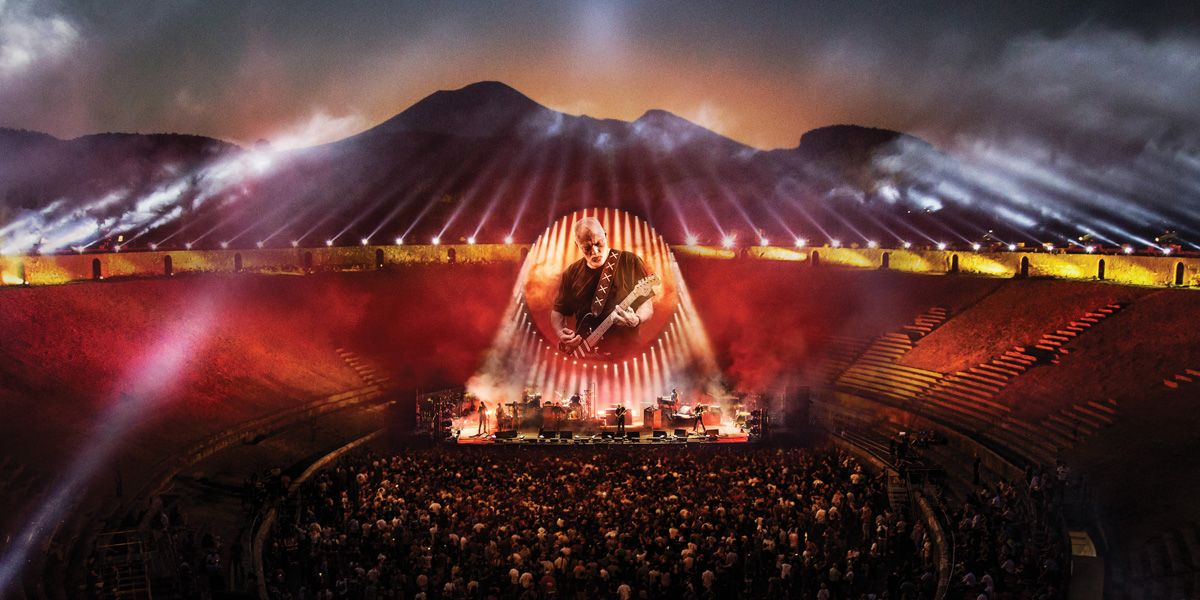David Gilmour performs Live at Pompeii