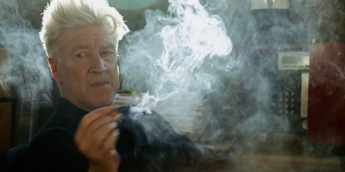 David Lynch surround be smoke in The Art life