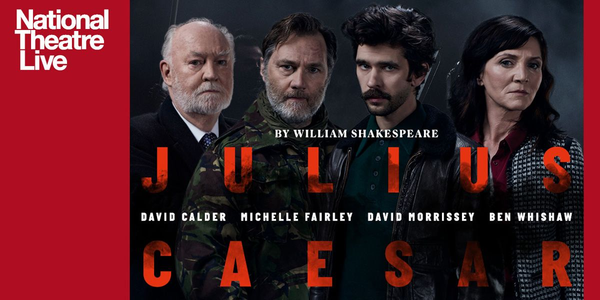The cast of Nicholas Hytner's new production of NT Live: Julius Caesar