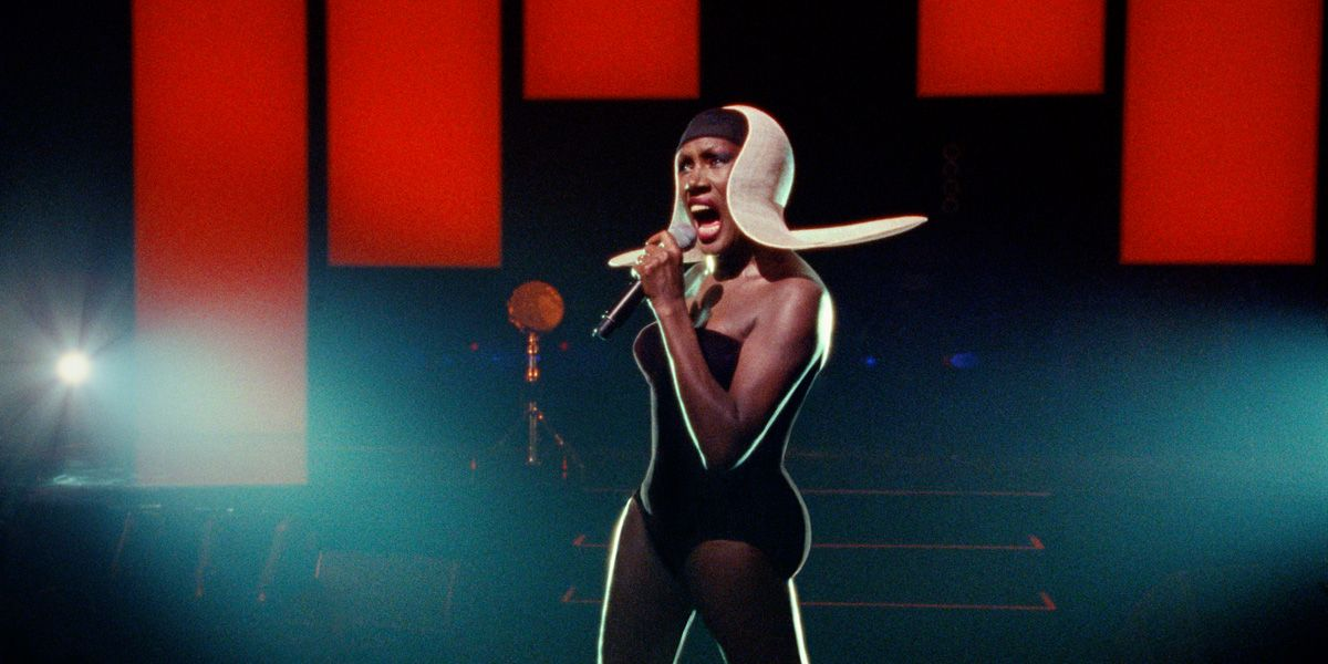 Grace Jones live on stage