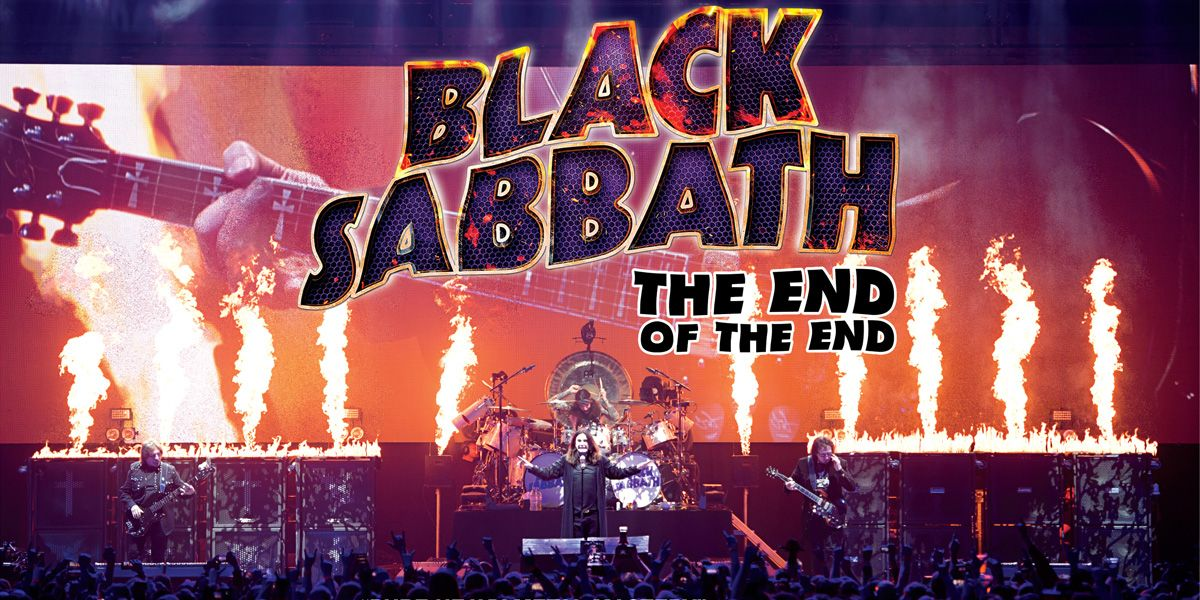 The End Of The End presentds Black Sabbath's final concert