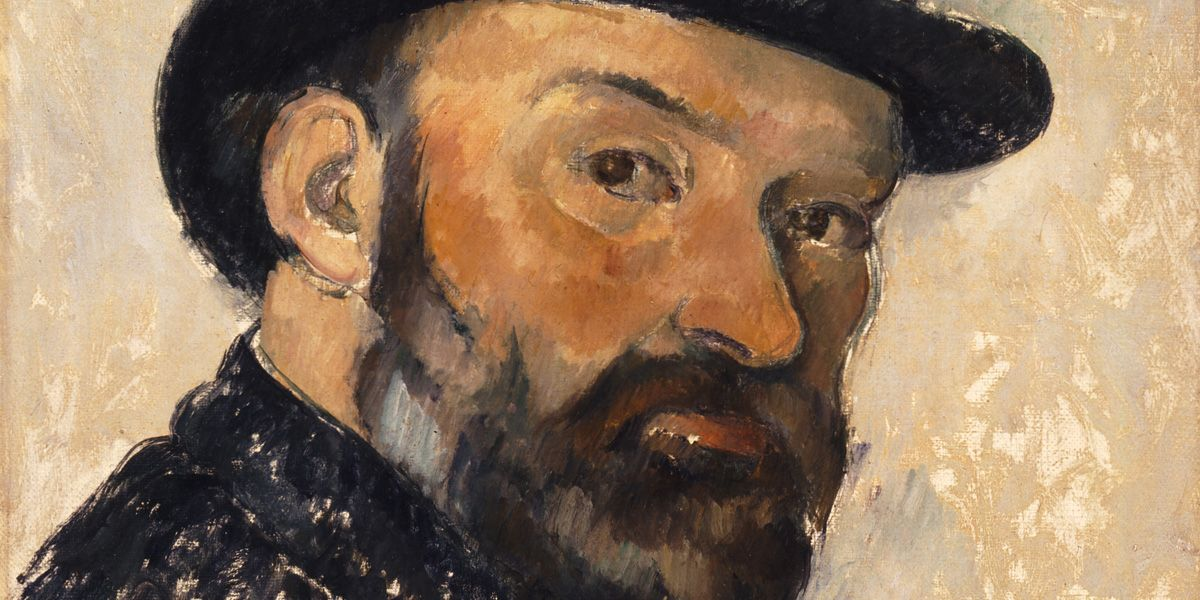 Paul Cézanne self portrait from Exhibition on Screen