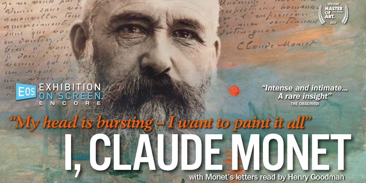 I Claude Monet screens as part of Exhibition on Screen