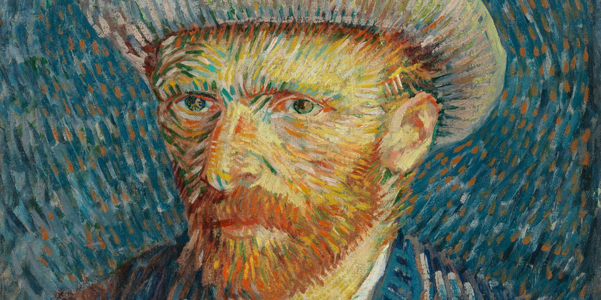 Vincent Van Gogh self portrait close-up in A New Way of Seeing