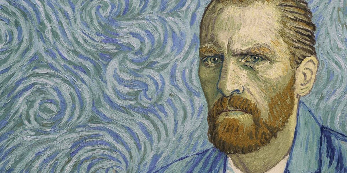 Vincent Van Gogh self portrait in Loving Vincent