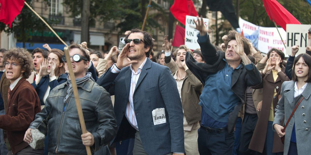 Godard marches in Redoubtable