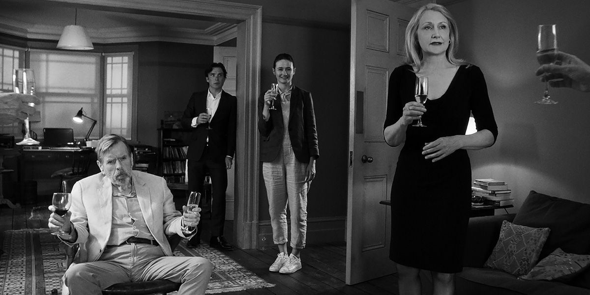 The guests gather in Sally Potter's The Party