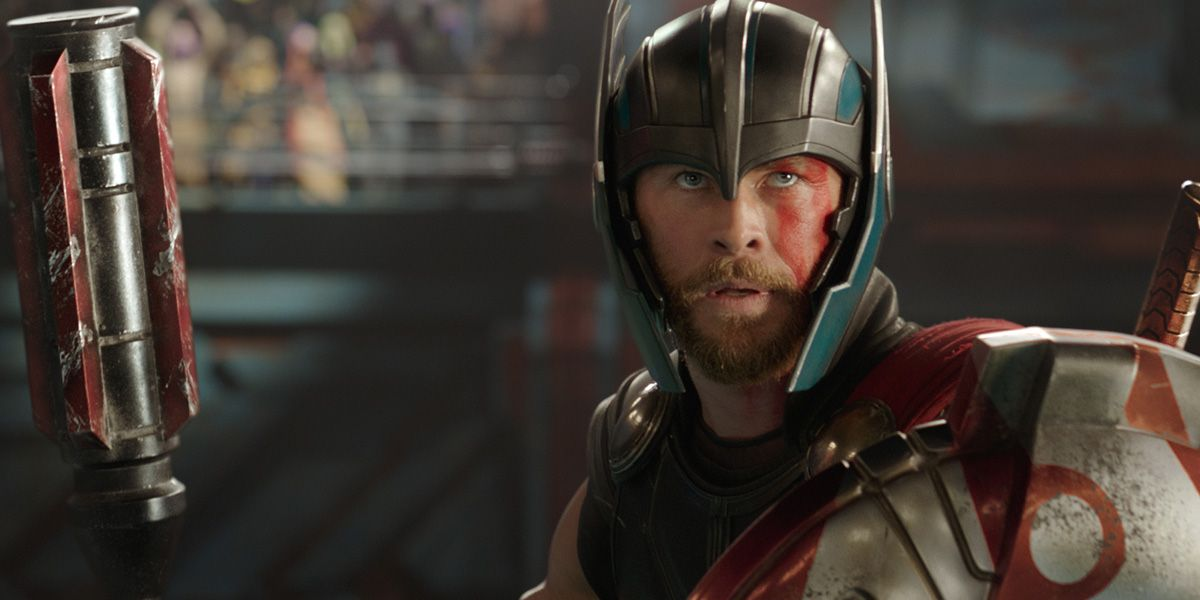 Chris Hemsworth in Thor: Ragnorok