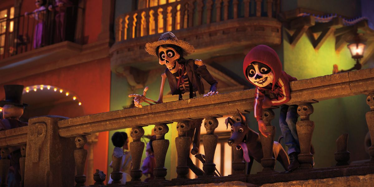 Still from the film Coco