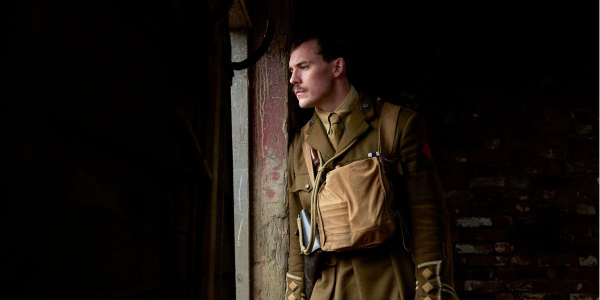 Sam Claflin as Captain Stanhope in Journey's End