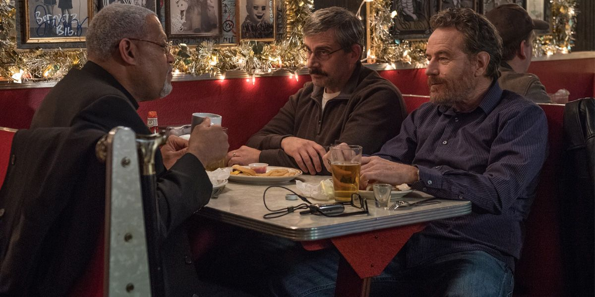 The veterans meet up in a diner in Last Flag Flying