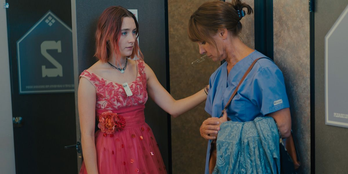 Saoirse Ronan and Laurie Metcalf in Lady Bird