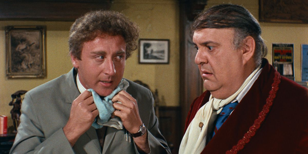 Gene Wilder and Zero Mostel in The Producers